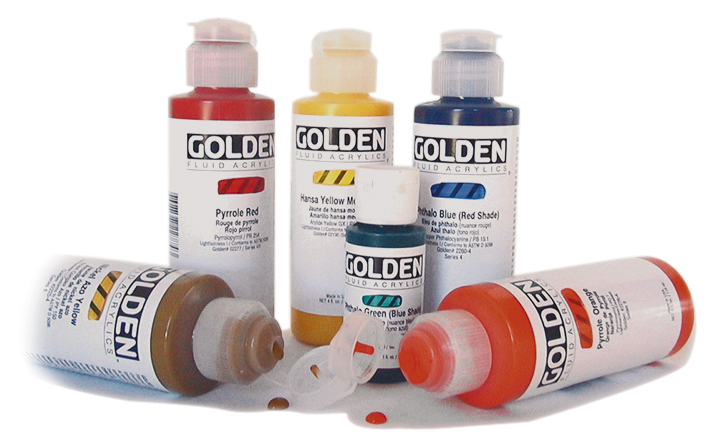Golden Fluid Acrylfarver
